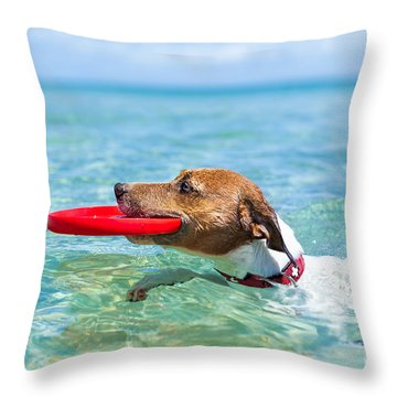 Jack Russell Throw Pillows