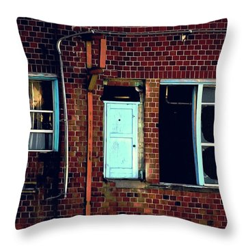 Door To Nowhere Throw Pillow
