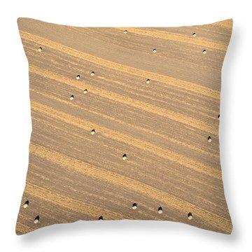 Dot Matrix Throw Pillow