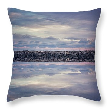 Throw Pillow featuring the photograph Double Exposure 2 by Steve Stanger