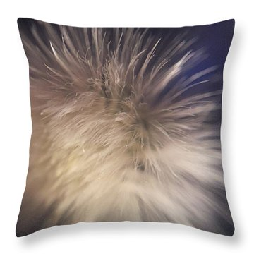 Down The Middle Throw Pillow