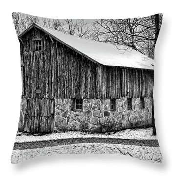Down The Old Dirt Road Throw Pillow