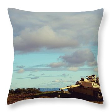 Downed But Not Out Throw Pillow
