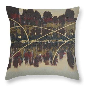 Downtown Abbey Throw Pillow