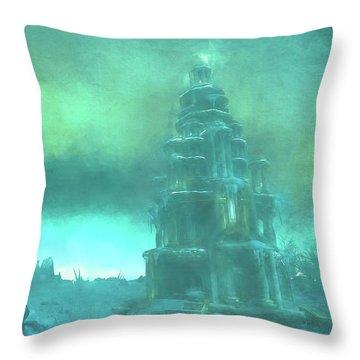 Dragonblight Throw Pillow