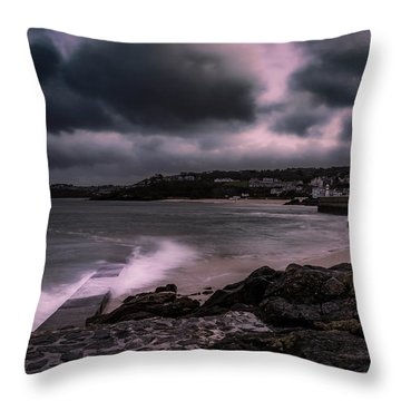 Dramatic Mood Throw Pillow