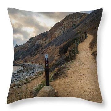 Dramatic Tovemore Trail Throw Pillow