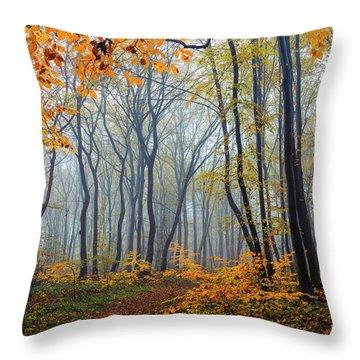 Dream Forest Throw Pillow