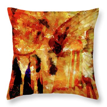 Dreamcatcher Throw Pillow