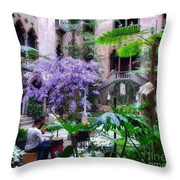 Dreamy Sunday Throw Pillow