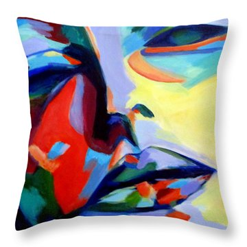 Drifting Into A Dream Throw Pillow