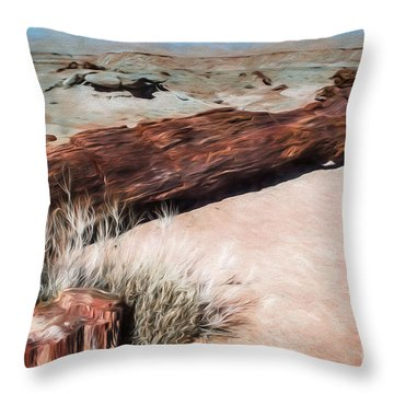 Throw Pillow featuring the photograph D R T In Arizona by Jon Burch Photography