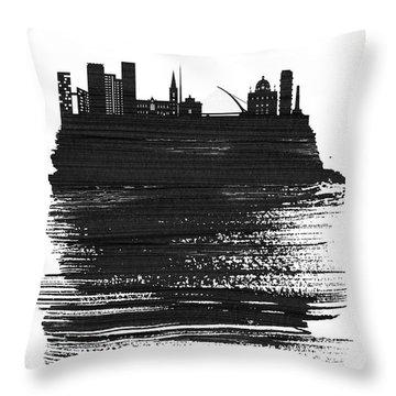 Dublin Mixed Media Throw Pillows
