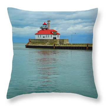 Duluth Lighthouse 2 Throw Pillow