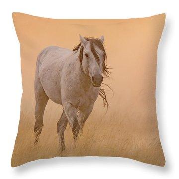 Dusty Evening Throw Pillow