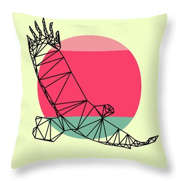 Eagle And Sunset Throw Pillow