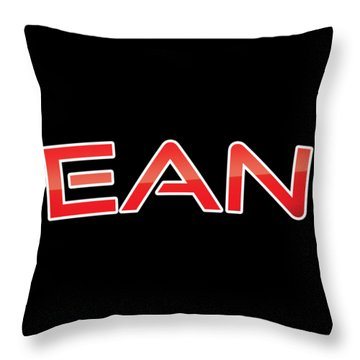 Throw Pillow featuring the digital art Ean by TintoDesigns