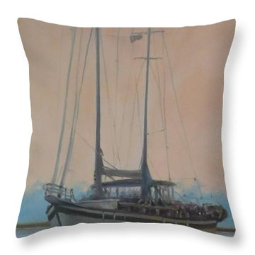 Early Start Throw Pillow