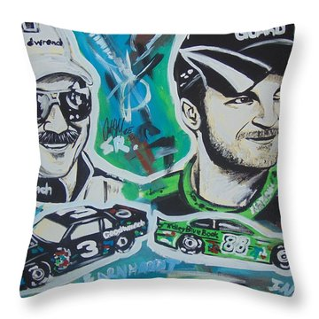 Earnhardt Legacy Throw Pillow