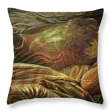 Earth Evening Throw Pillow