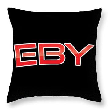Eby Throw Pillow