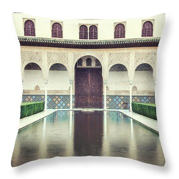 Echoes In The Rain Throw Pillow