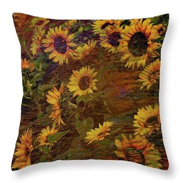 Ecoattack Throw Pillow