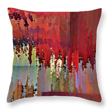 Ecumenopolis Throw Pillow