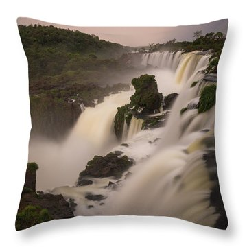 Throw Pillow featuring the photograph Edge Case by Alex Lapidus