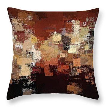 Edge Of Eternity Throw Pillow