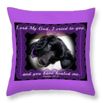 Edie Framed Throw Pillow