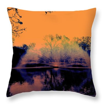 Edit This 14 - Mist Throw Pillow