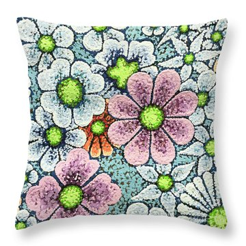 Efflorescent 1 Throw Pillow
