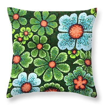 Efflorescent 10 Throw Pillow
