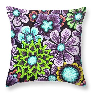Efflorescent 12 Throw Pillow