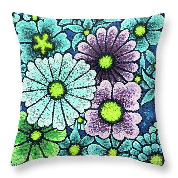 Efflorescent 2 Throw Pillow