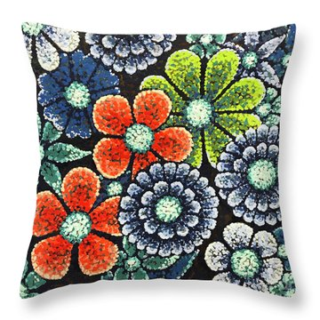 Efflorescent 3 Throw Pillow