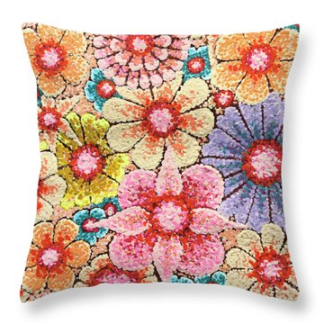 Efflorescent 4 Throw Pillow