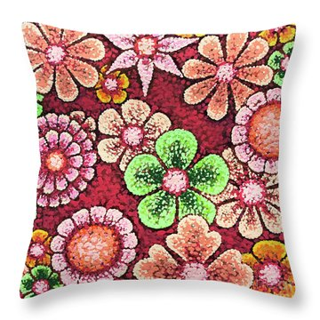 Efflorescent 5 Throw Pillow