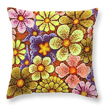 Efflorescent 6 Throw Pillow