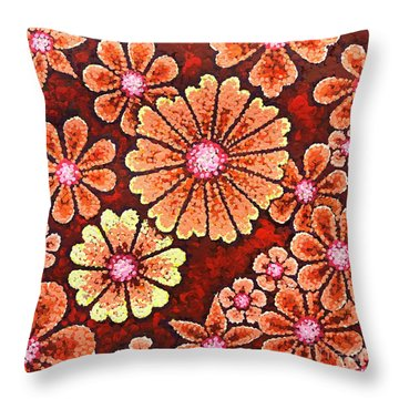 Efflorescent 7 Throw Pillow