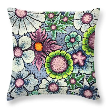 Efflorescent 8 Throw Pillow