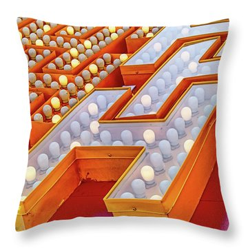 Throw Pillow featuring the photograph Eggs Benedict by Skip Hunt