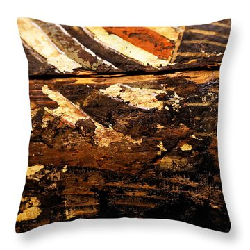 Egyptian Splash Throw Pillow