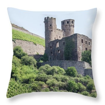 Ehrenfels Castle Throw Pillow