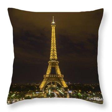 Eiffel Tower 1 Throw Pillow