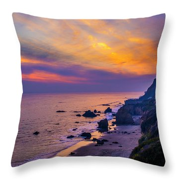 El Matador Sunset Throw Pillow