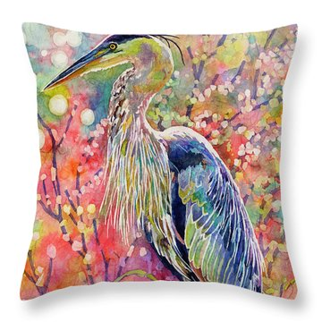 Elegant Repose Throw Pillow