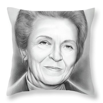 Elisabeth Elliot Throw Pillow