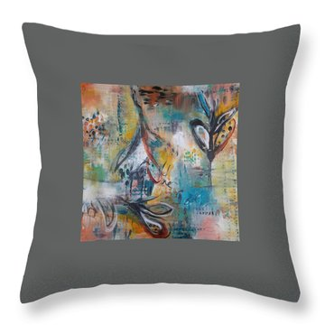 Emancipator Throw Pillow